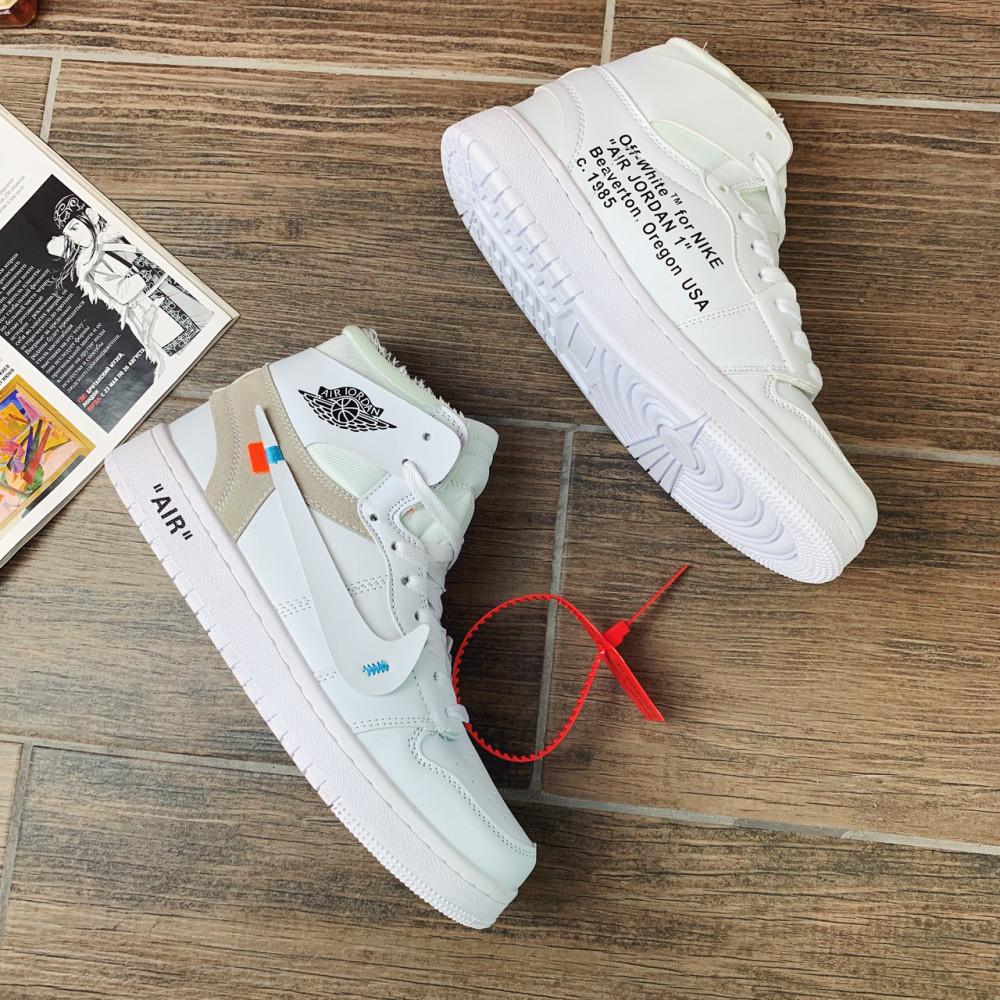 Демисезонные кроссовки мужские   - Кроссовки мужские Nike Air Jordan x OFF-White  00039 ⏩ [ 40.41.42.43 ] 7