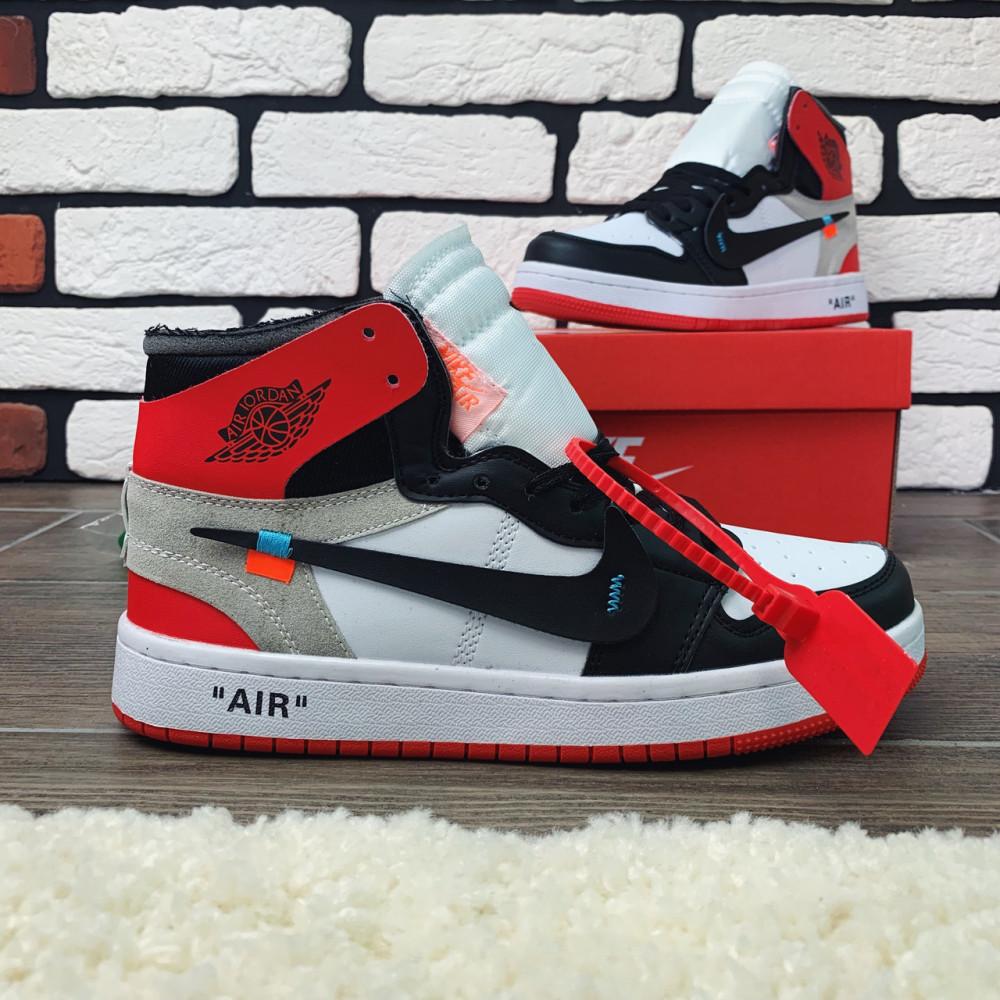 Демисезонные кроссовки мужские   - Кроссовки мужские Nike Air Jordan x OFF-White  00038 ⏩ [ 40 размер ]