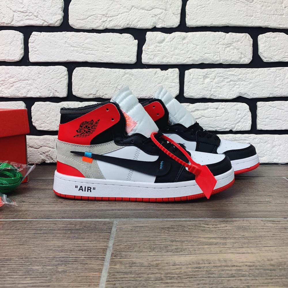 Демисезонные кроссовки мужские   - Кроссовки мужские Nike Air Jordan x OFF-White  00038 ⏩ [ 40 размер ] 8