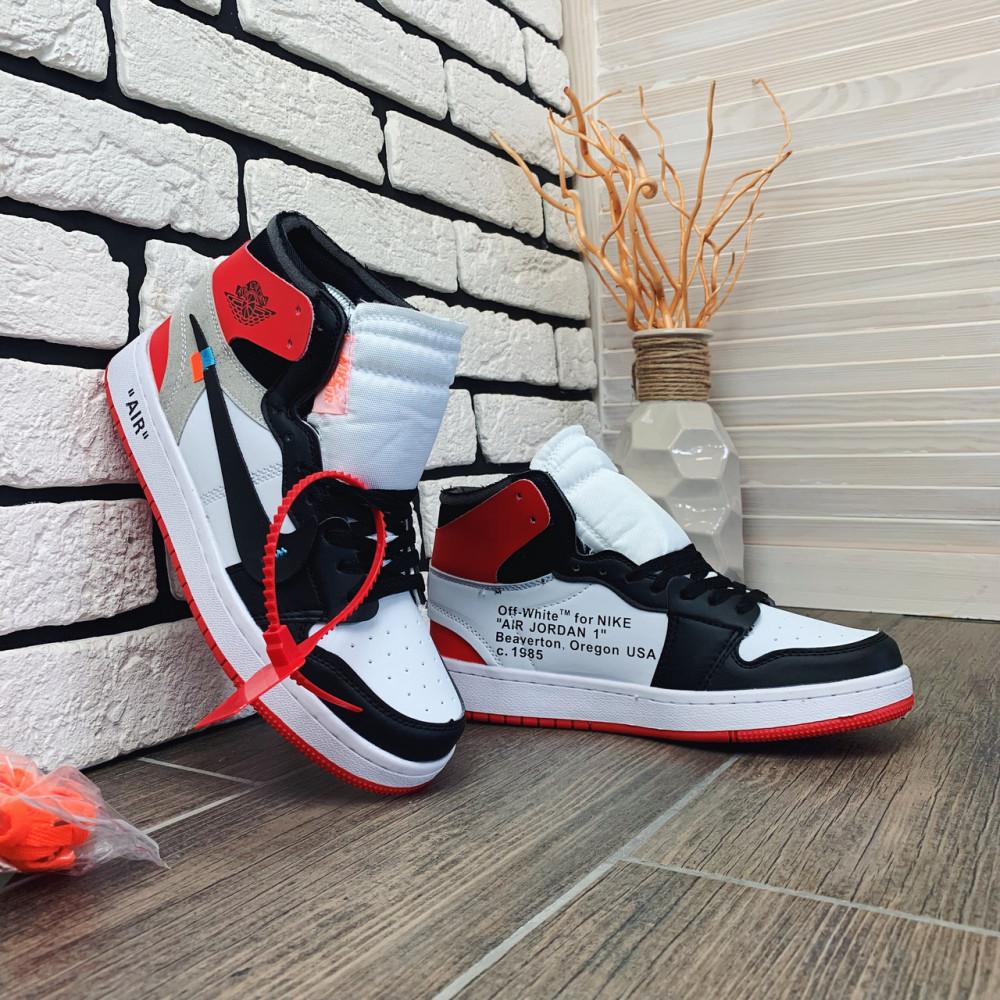 Демисезонные кроссовки мужские   - Кроссовки мужские Nike Air Jordan x OFF-White  00038 ⏩ [ 40 размер ] 7