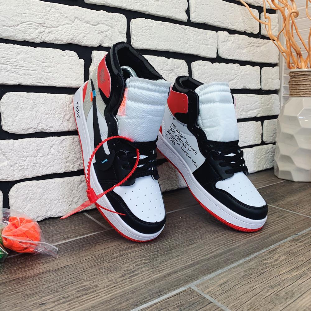 Демисезонные кроссовки мужские   - Кроссовки мужские Nike Air Jordan x OFF-White  00038 ⏩ [ 40 размер ] 6