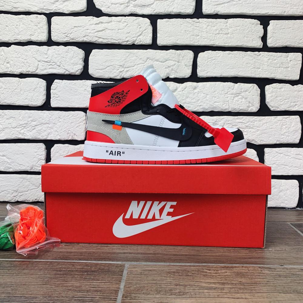 Демисезонные кроссовки мужские   - Кроссовки мужские Nike Air Jordan x OFF-White  00038 ⏩ [ 40 размер ] 2