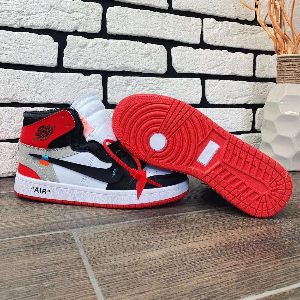 Демисезонные кроссовки мужские   - Кроссовки мужские Nike Air Jordan x OFF-White  00038 ⏩ [ 40 размер ] 4