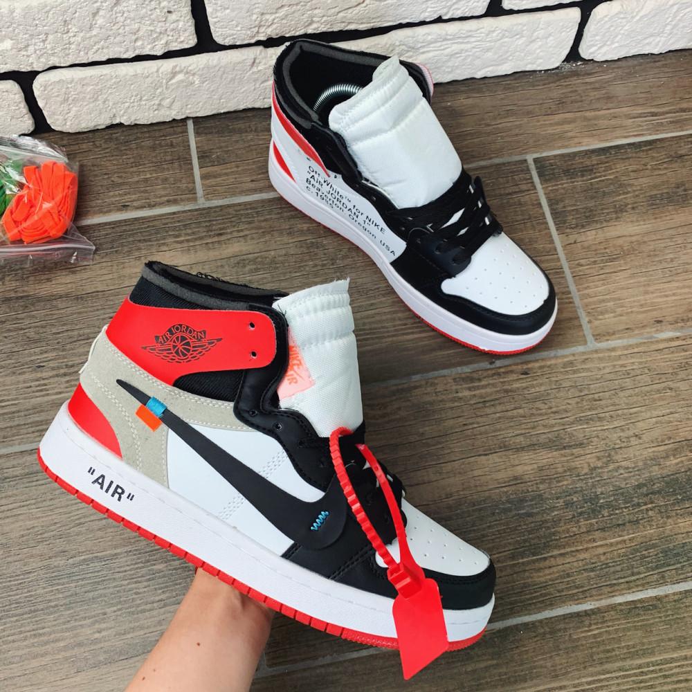Демисезонные кроссовки мужские   - Кроссовки мужские Nike Air Jordan x OFF-White  00038 ⏩ [ 40 размер ] 5