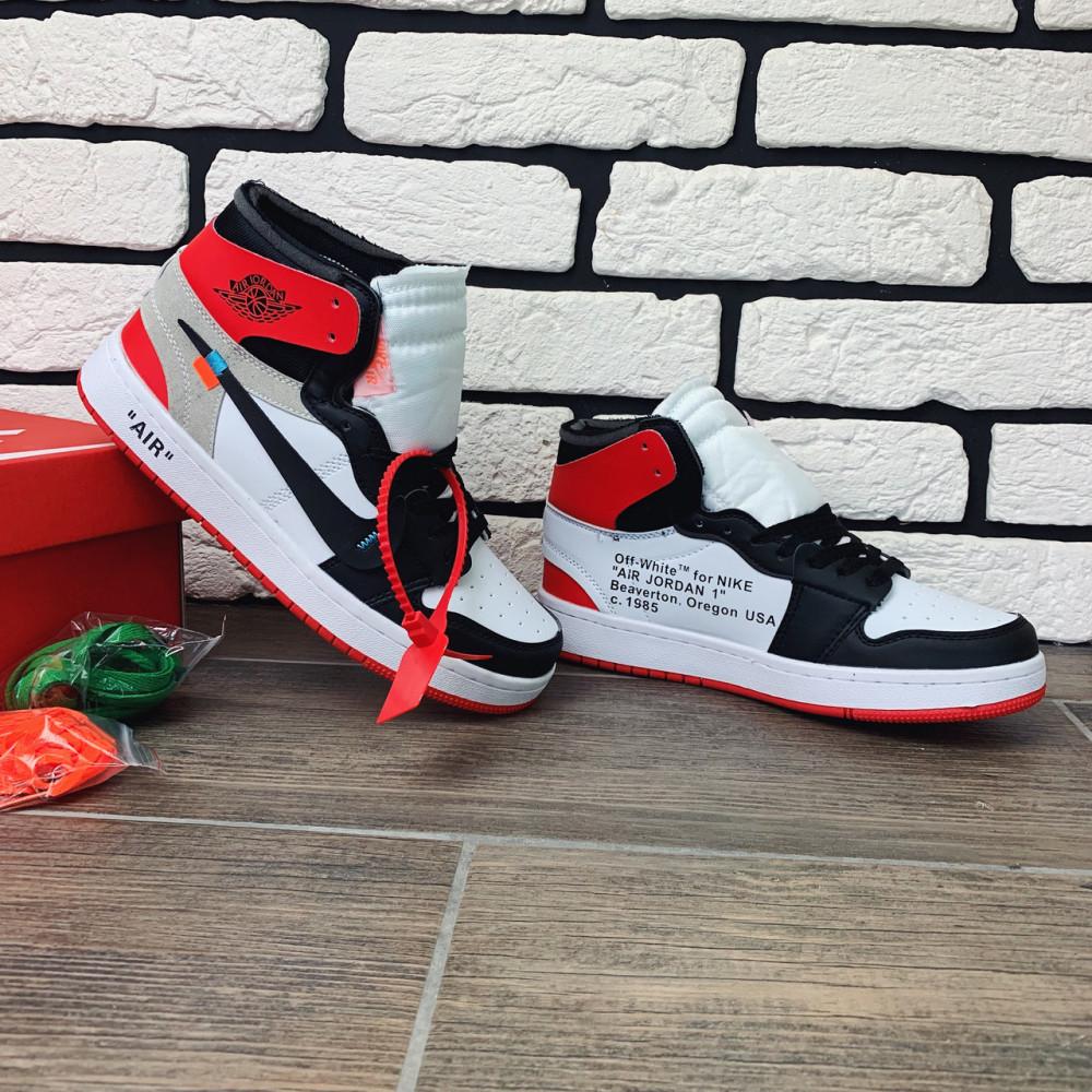 Демисезонные кроссовки мужские   - Кроссовки мужские Nike Air Jordan x OFF-White  00038 ⏩ [ 40 размер ] 3