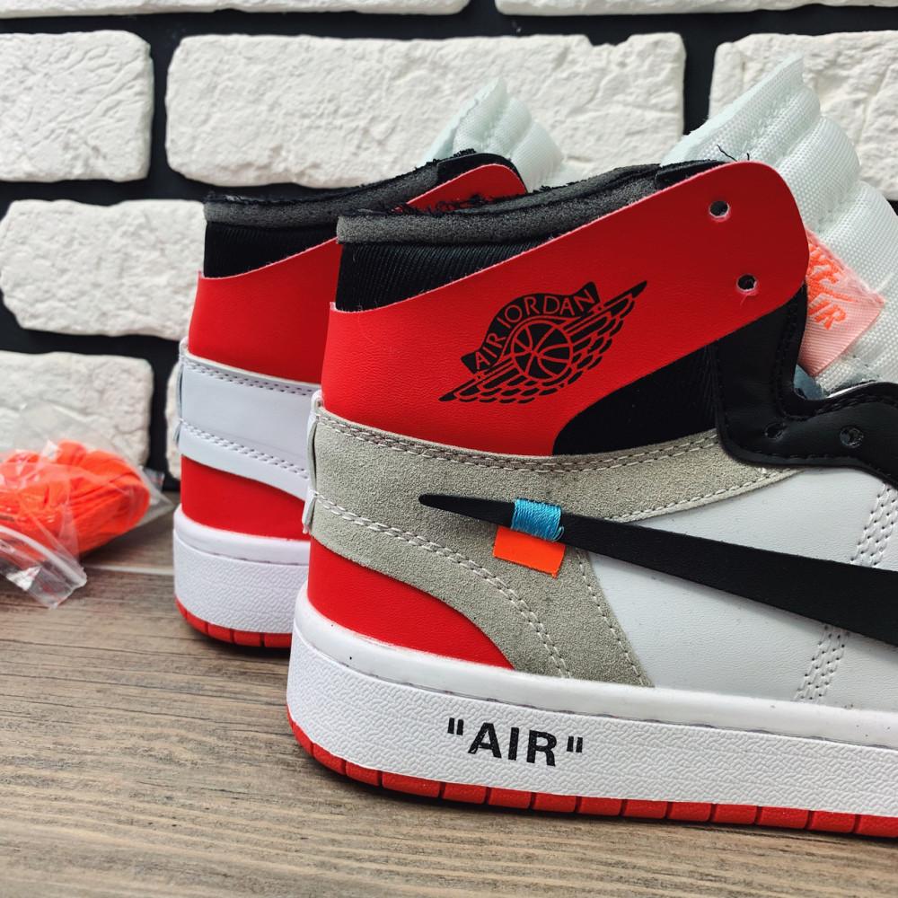 Демисезонные кроссовки мужские   - Кроссовки мужские Nike Air Jordan x OFF-White  00038 ⏩ [ 40 размер ] 1