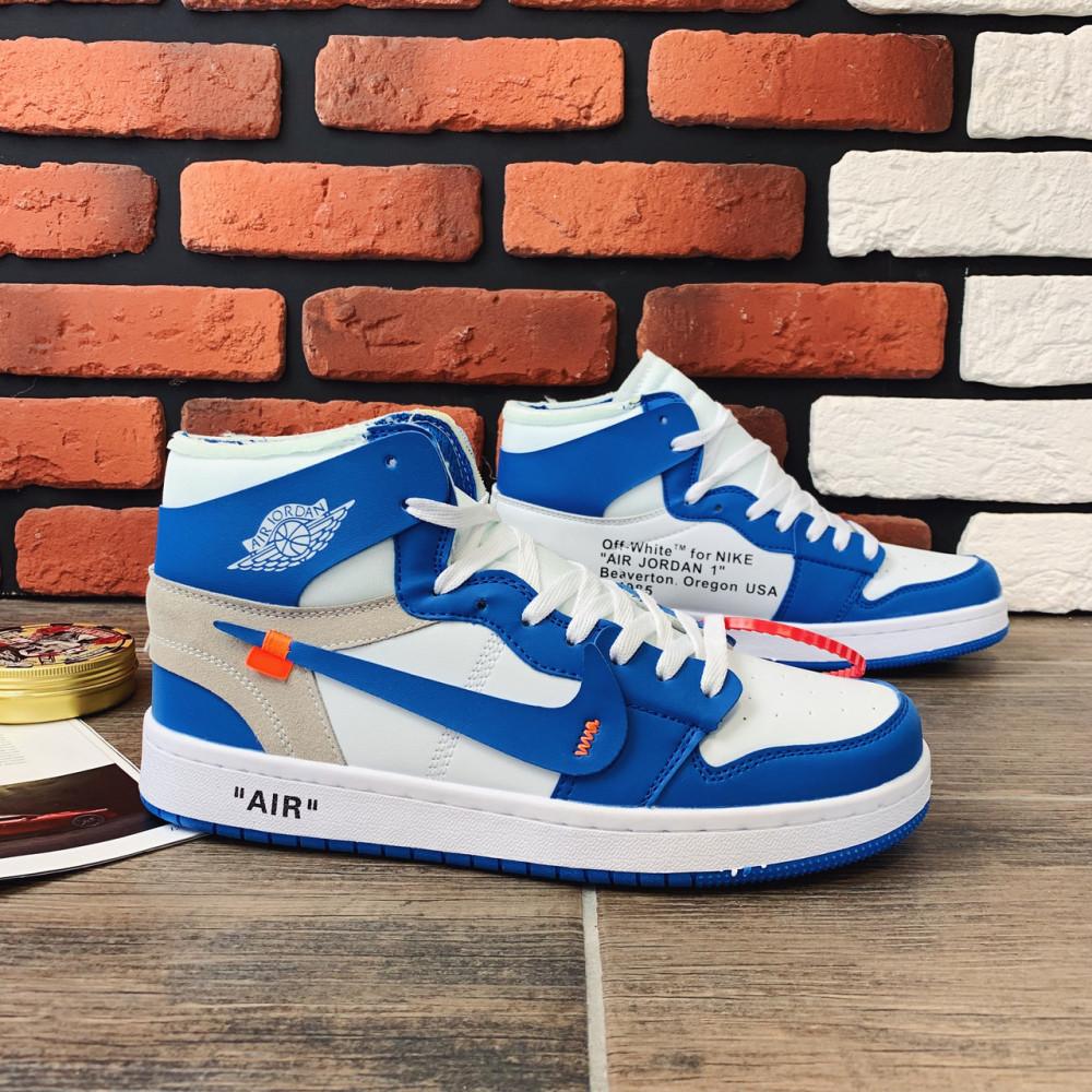 Демисезонные кроссовки мужские   - Кроссовки мужские Nike Air Jordan x OFF-White 00037 ⏩ [ 40.41.42.43 ] 7