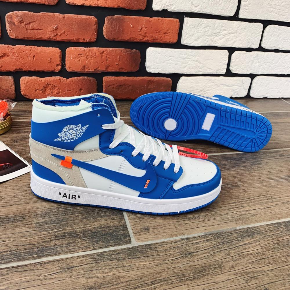 Демисезонные кроссовки мужские   - Кроссовки мужские Nike Air Jordan x OFF-White 00037 ⏩ [ 40.41.42.43 ] 5