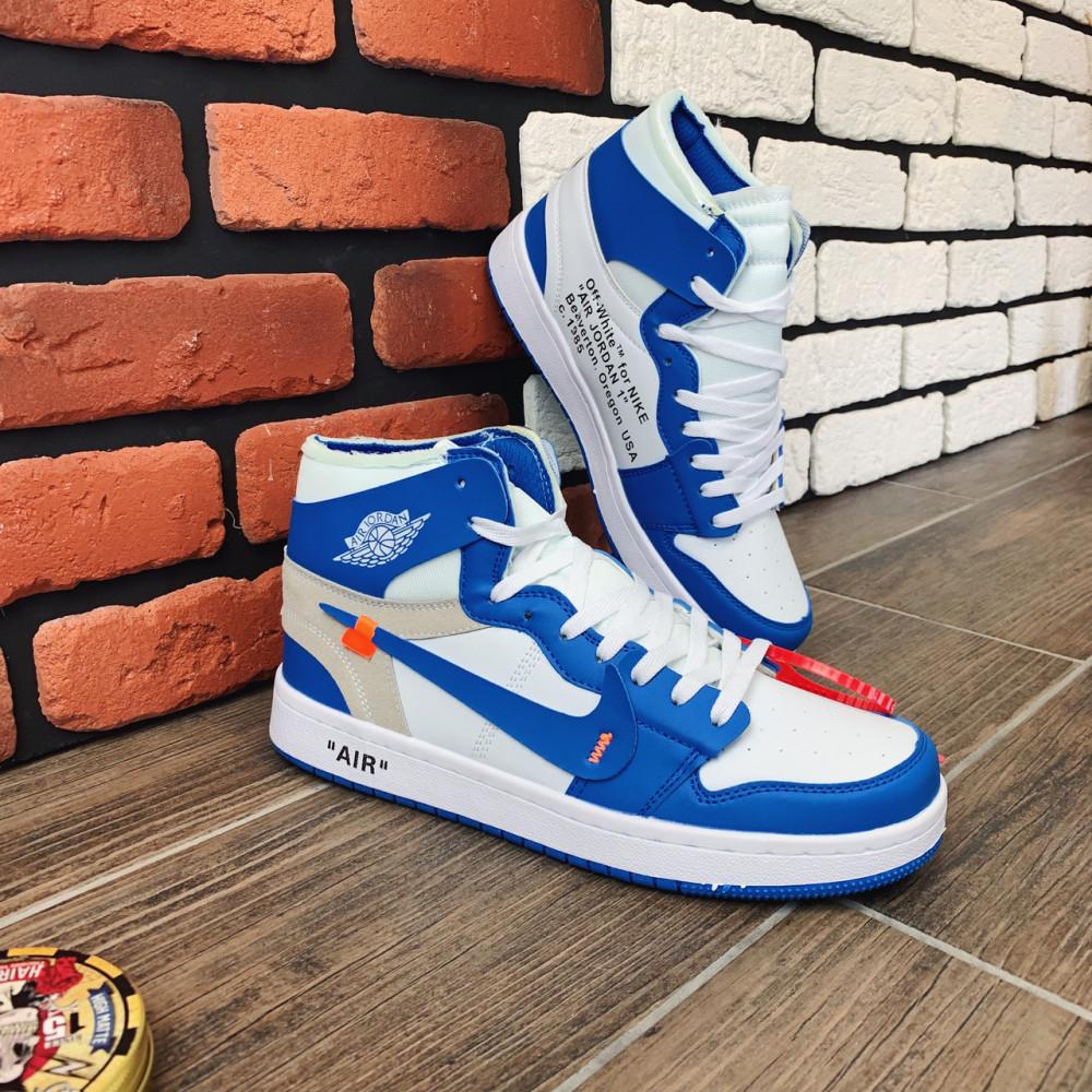 Демисезонные кроссовки мужские   - Кроссовки мужские Nike Air Jordan x OFF-White 00037 ⏩ [ 40.41.42.43 ] 2