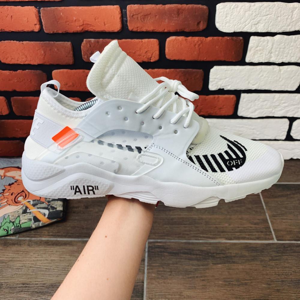 Демисезонные кроссовки мужские   - Кроссовки мужские Nike Huarache x OFF-White  00018 ⏩ [ 40,41,42 ]