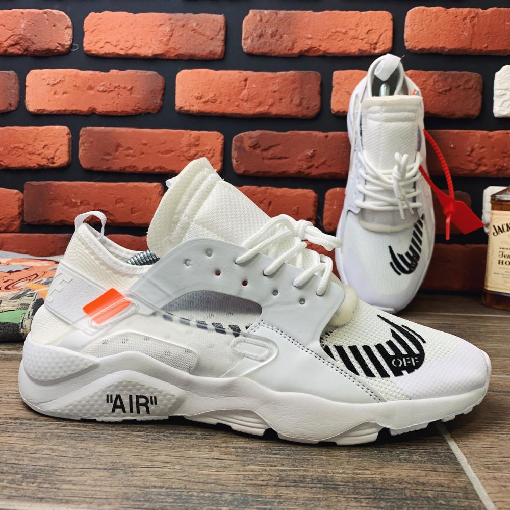Демисезонные кроссовки мужские   - Кроссовки мужские Nike Huarache x OFF-White  00018 ⏩ [ 40,41,42 ] 4