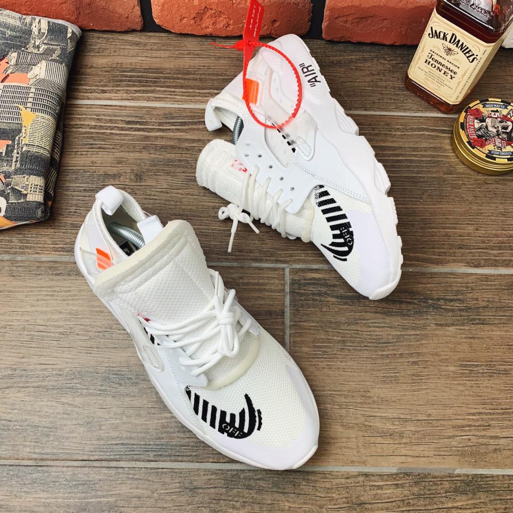 Демисезонные кроссовки мужские   - Кроссовки мужские Nike Huarache x OFF-White  00018 ⏩ [ 40,41,42 ] 1