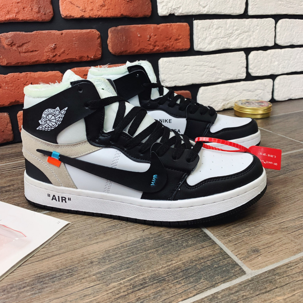 Демисезонные кроссовки мужские   - Кроссовки мужские Nike Air Jordan  x OFF-White  00022 ⏩ [ 40,42] 5