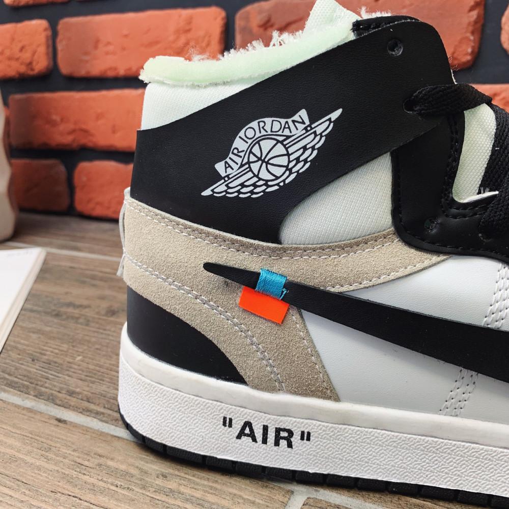 Демисезонные кроссовки мужские   - Кроссовки мужские Nike Air Jordan  x OFF-White  00022 ⏩ [ 40,42] 3
