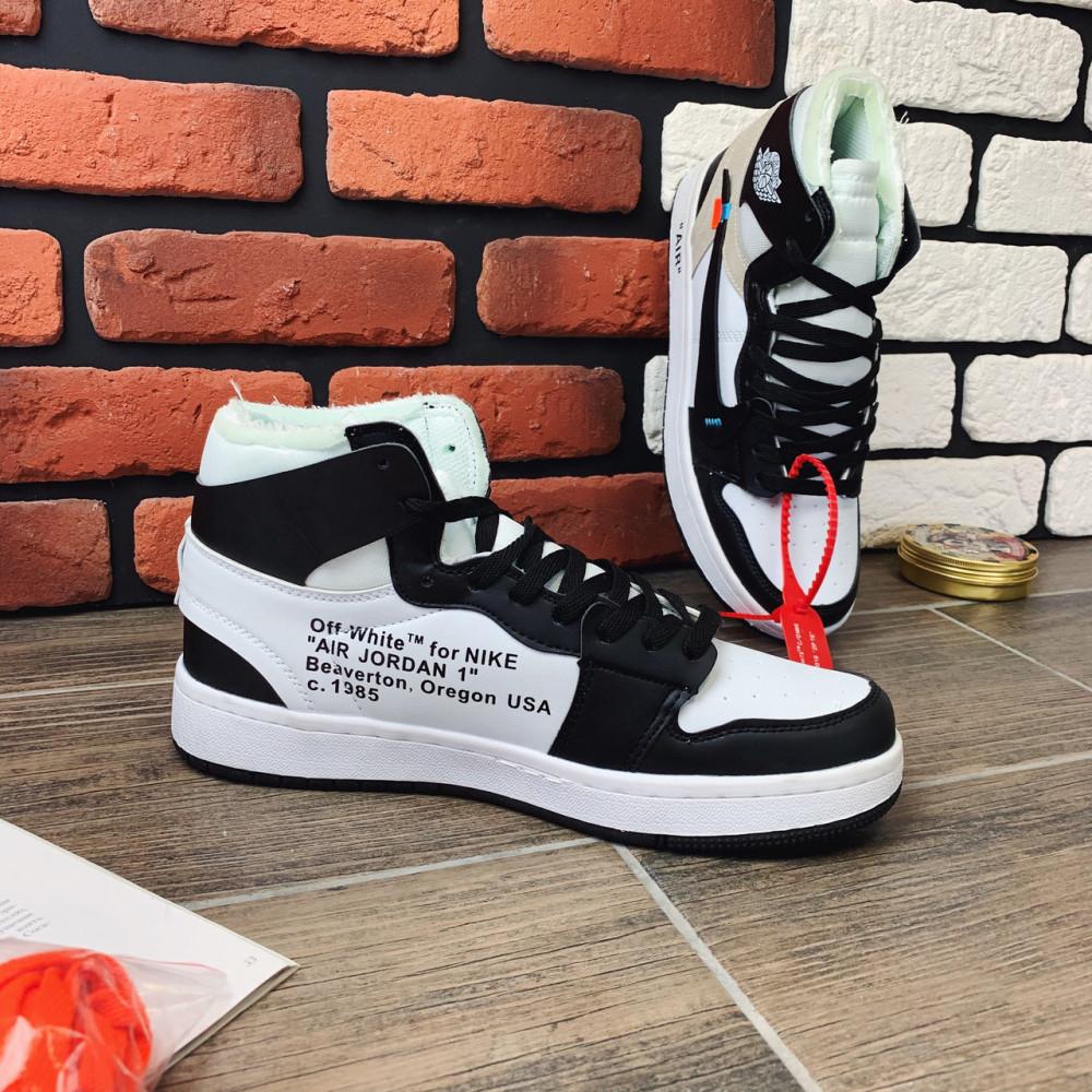 Демисезонные кроссовки мужские   - Кроссовки мужские Nike Air Jordan  x OFF-White  00022 ⏩ [ 40,42] 4