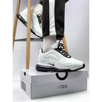Мужские белые кроссовки на баллоне Найк Аир Макс 720