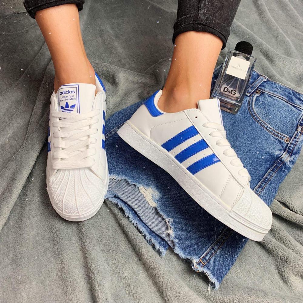 Женские кроссовки классические  - Кроссовки женские Adidas Superstar  3058 ⏩ [ 36.39 ] 4