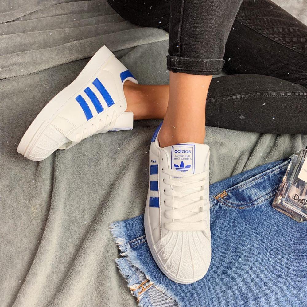 Женские кроссовки классические  - Кроссовки женские Adidas Superstar  3058 ⏩ [ 36.39 ] 3