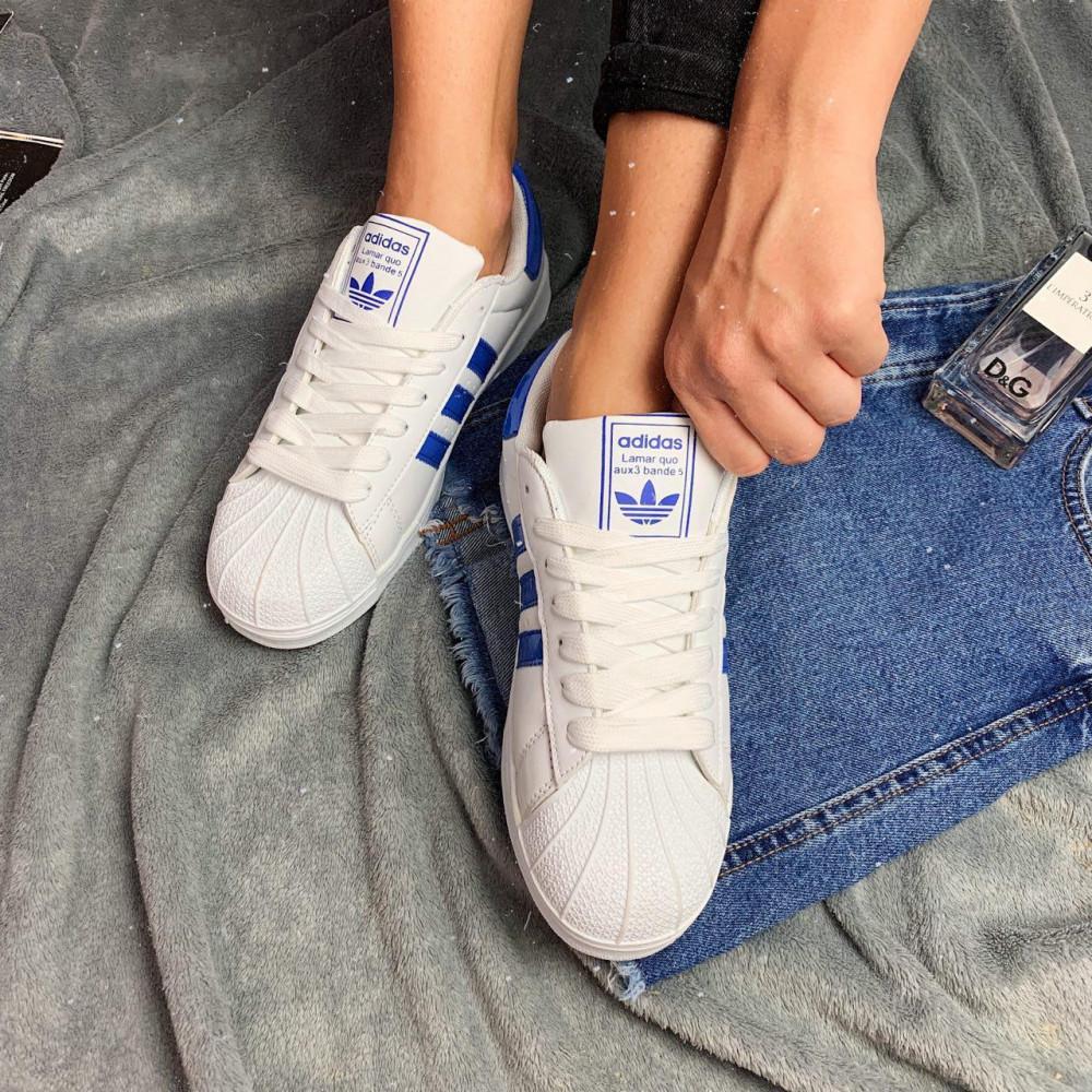 Женские кроссовки классические  - Кроссовки женские Adidas Superstar  3058 ⏩ [ 36.39 ] 2