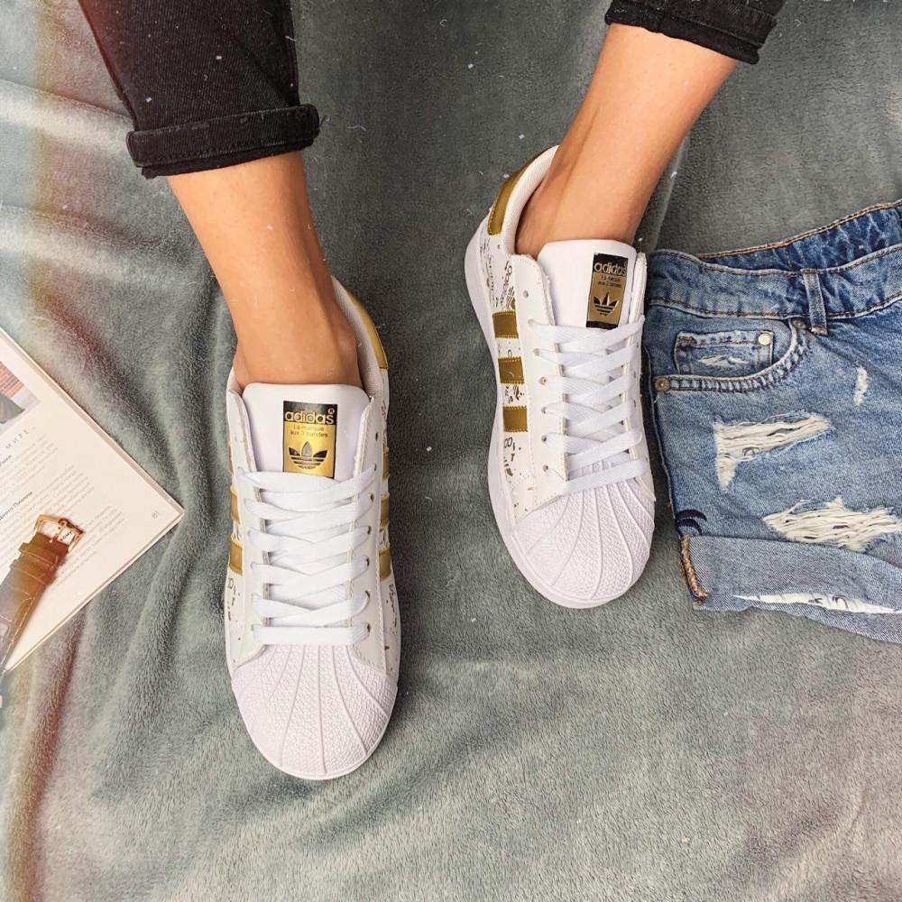 Женские кроссовки классические  - Кроссовки женские Adidas Superstar 3059 ⏩ [ 37 ] 5