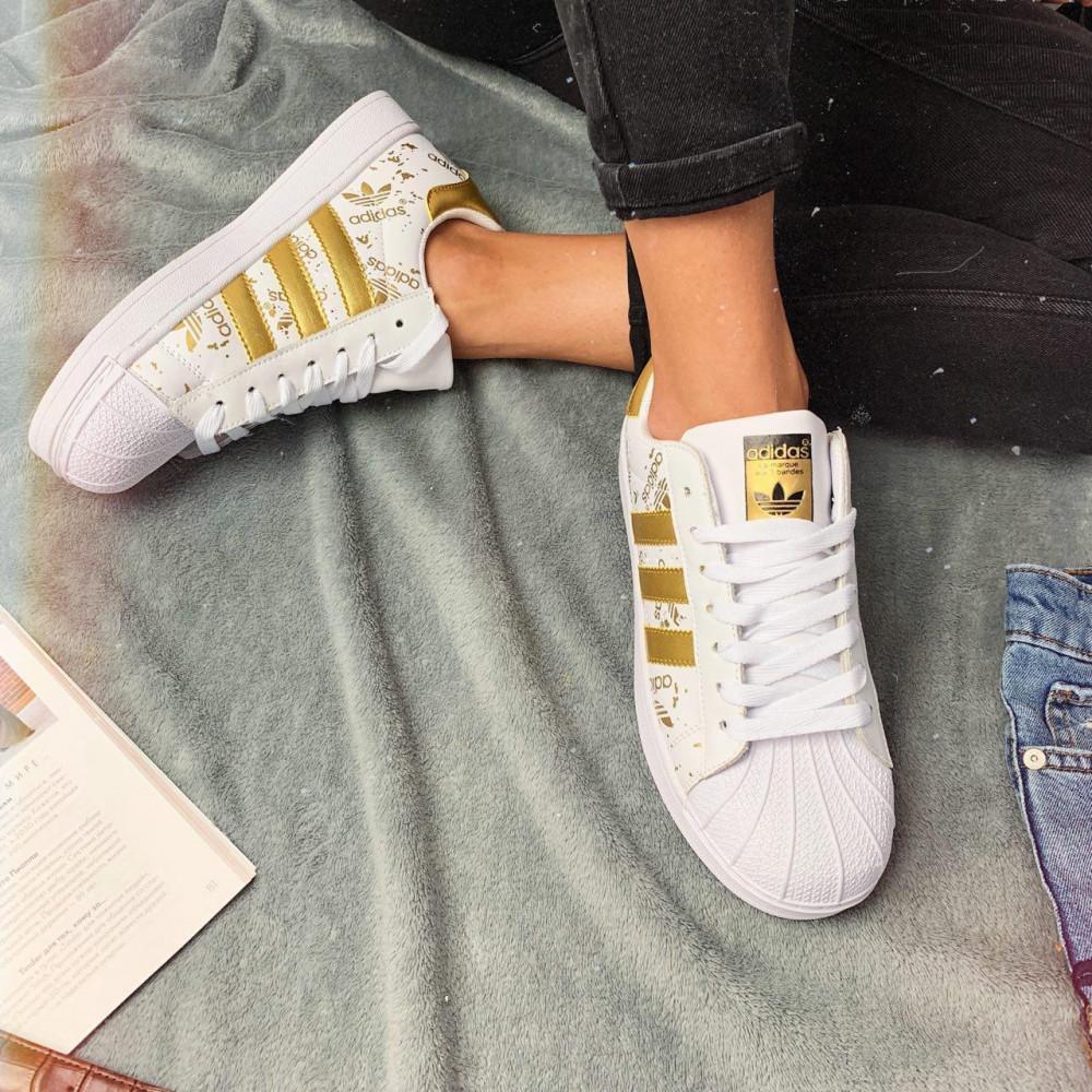 Женские кроссовки классические  - Кроссовки женские Adidas Superstar 3059 ⏩ [ 37 ] 4