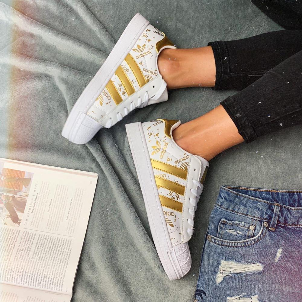 Женские кроссовки классические  - Кроссовки женские Adidas Superstar 3059 ⏩ [ 37 ] 1