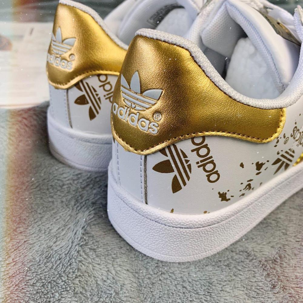 Женские кроссовки классические  - Кроссовки женские Adidas Superstar 3059 ⏩ [ 37 ] 6