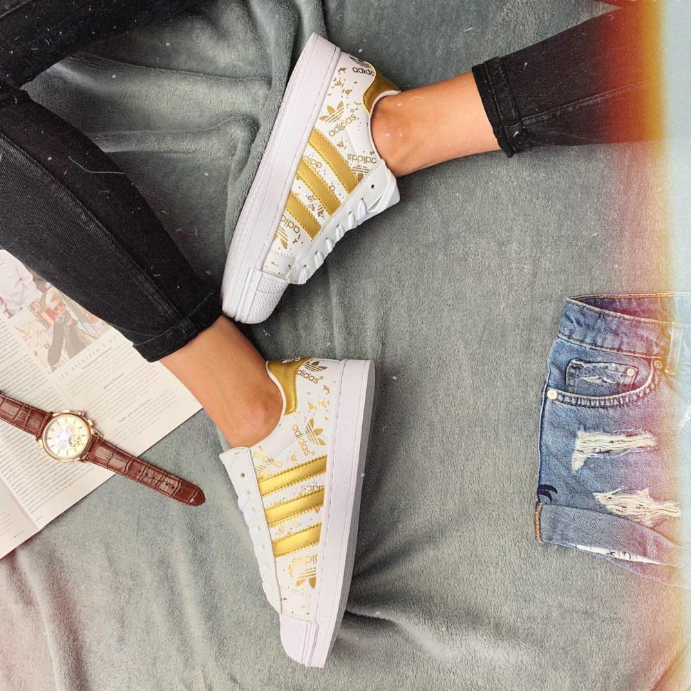 Женские кроссовки классические  - Кроссовки женские Adidas Superstar 3059 ⏩ [ 37 ] 2