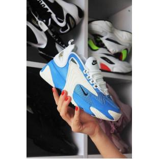 Женские кроссовки Nike Zoom 2K в бело-голубом цвете