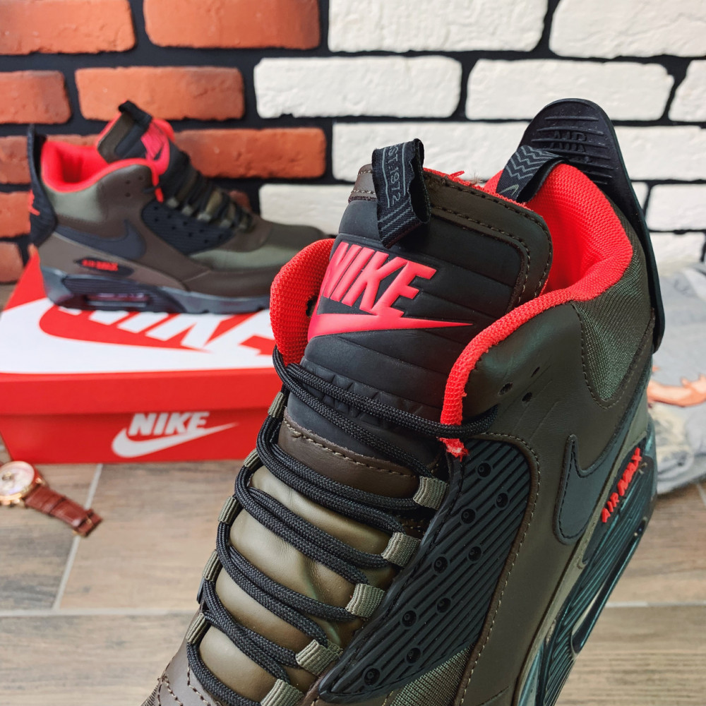 Зимние кроссовки мужские - Термо-кроссовки мужские Nike Air Max  1182 ⏩ [ 41,42,43,44 ] 1