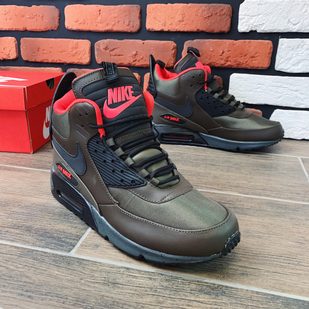 Зимние кроссовки мужские - Термо-кроссовки мужские Nike Air Max  1182 ⏩ [ 41,42,43,44 ] 4