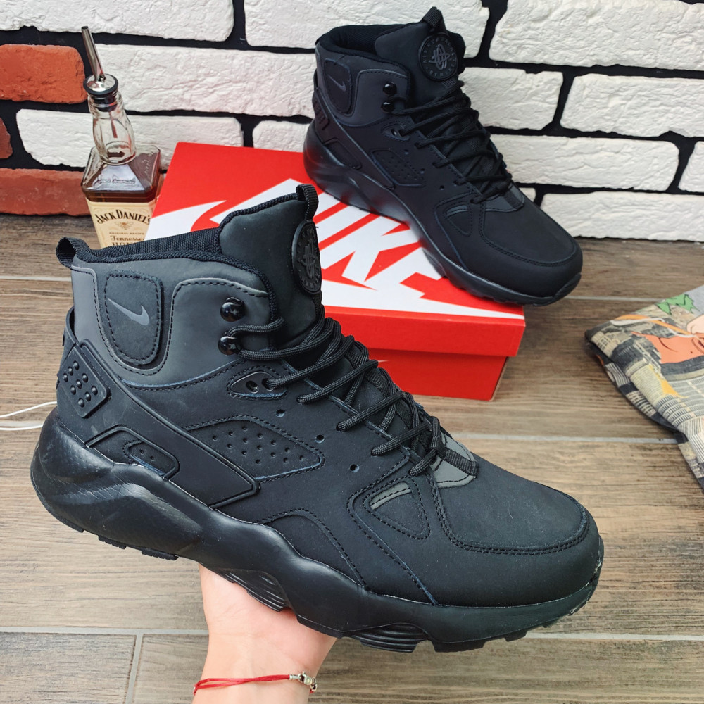 Зимние кроссовки мужские - Термо-кроссовки мужские Nike Huarache  1180 ⏩ [ 41.42.43,44 ]