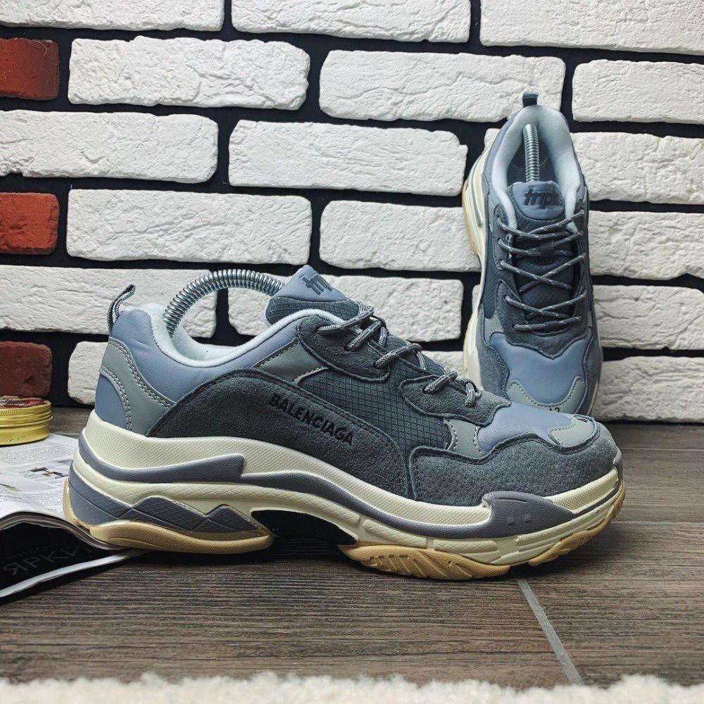 Демисезонные кроссовки мужские   - Кроссовки мужские Balenciaga Triple S  99993 ⏩ [ 41 последний размер ] 8