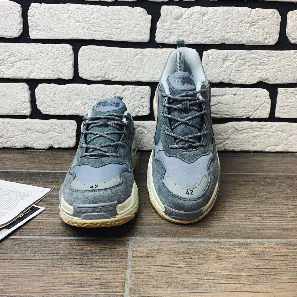 Демисезонные кроссовки мужские   - Кроссовки мужские Balenciaga Triple S  99993 ⏩ [ 41 последний размер ] 5