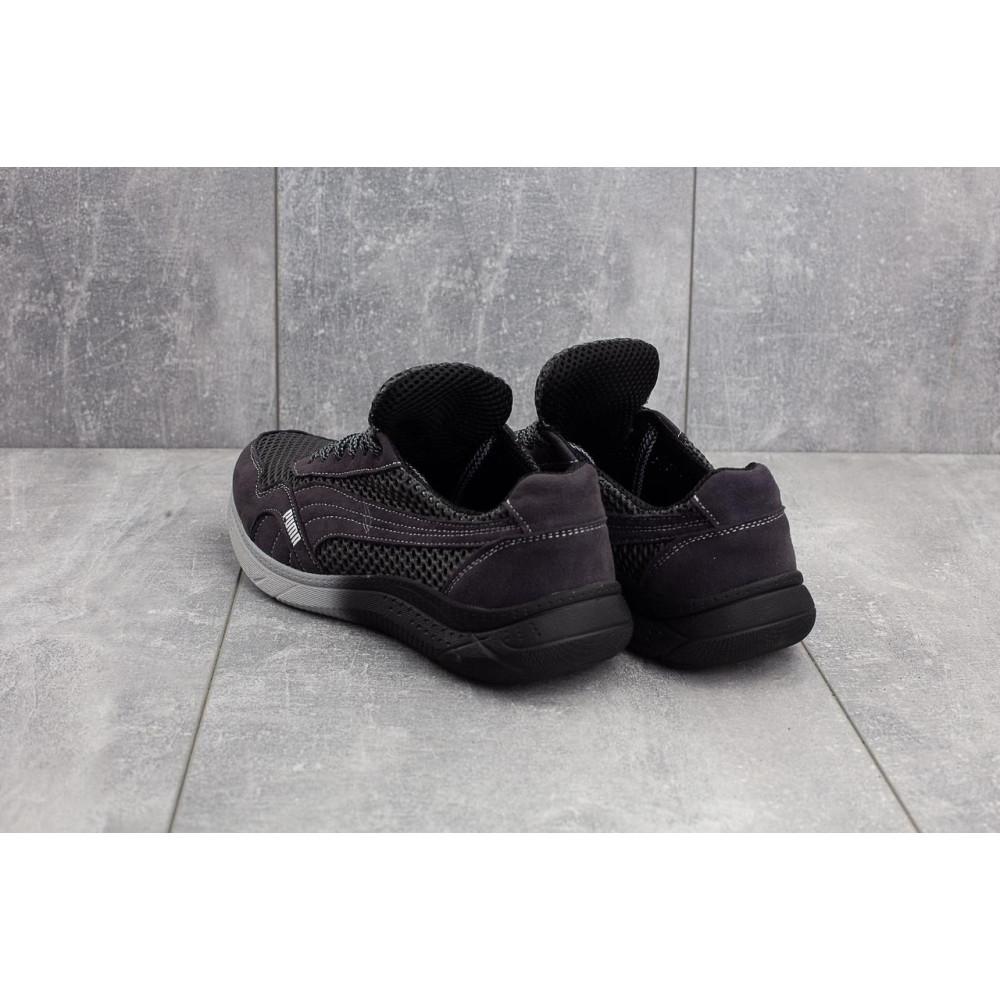 Летние кроссовки мужские - Мужские кроссовки текстильные летние черные-серые CrosSAV 51 2