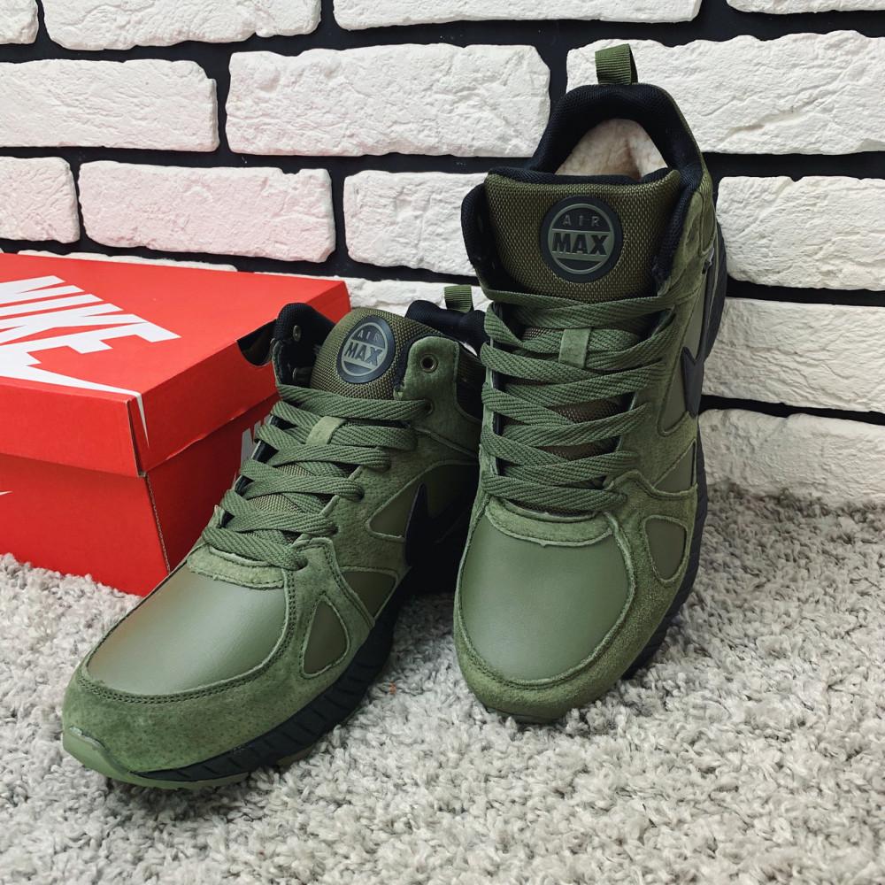 Мужские ботинки зимние - Зимние ботинки (на меху) мужские Nike Air Max 1-020 ⏩ [ 45 последний размер ] 5