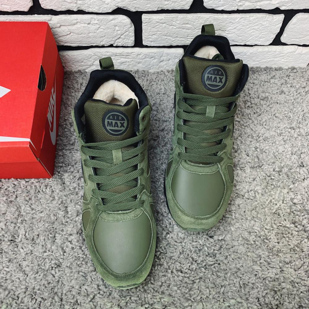 Мужские ботинки зимние - Зимние ботинки (на меху) мужские Nike Air Max 1-020 ⏩ [ 45 последний размер ] 2