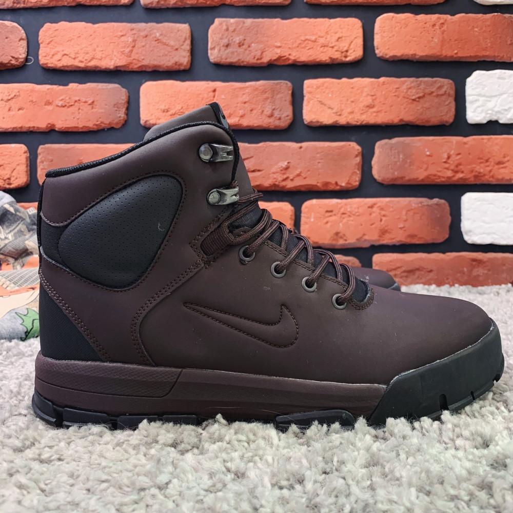 Мужские ботинки зимние - Зимние ботинки (на меху) мужские Nike Air Lunarridge 1-021  ⏩ [ 41,42,43,44,45 ]
