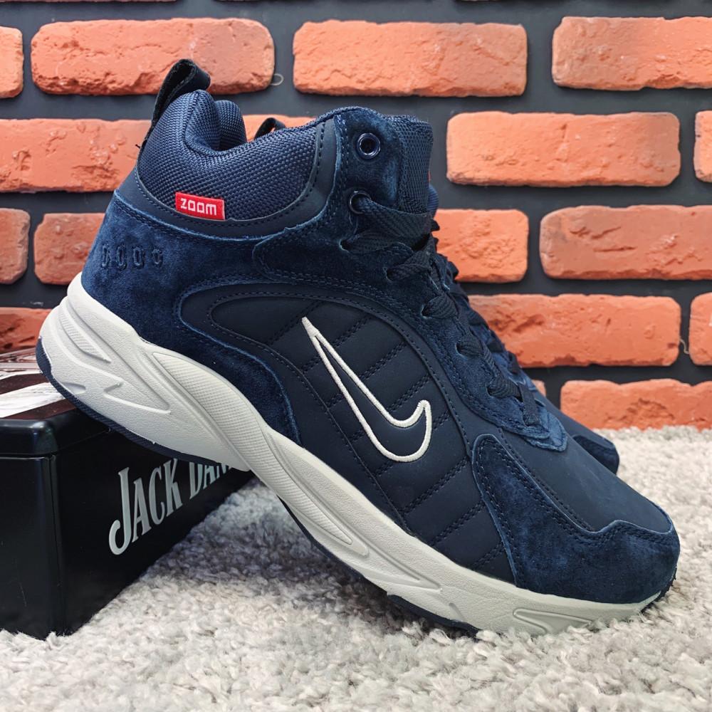 Зимние кроссовки мужские - Зимние кроссовки (на меху) мужские Nike Zoom 1-026 (реплика) ⏩ [ 41,43 ]