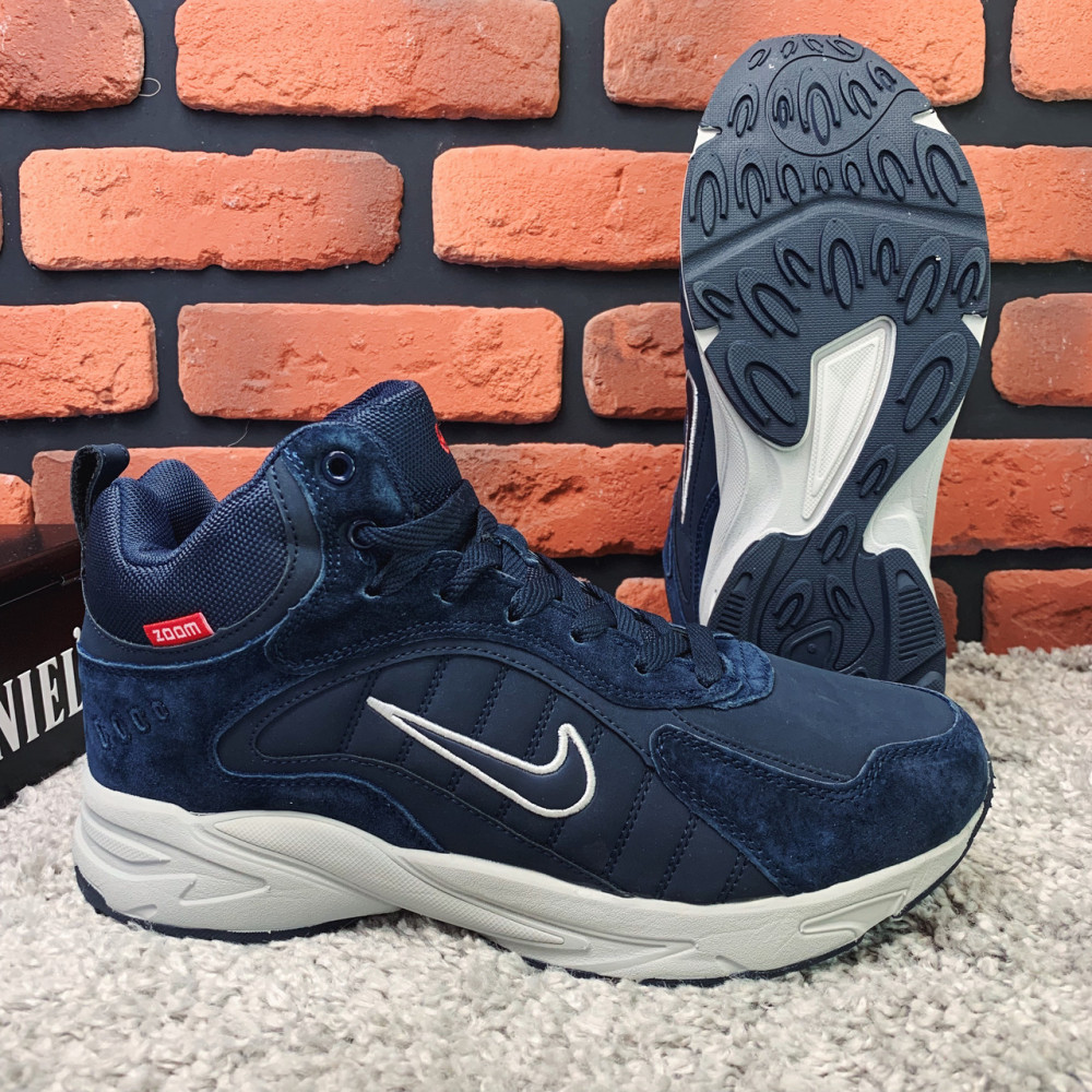 Зимние кроссовки мужские - Зимние кроссовки (на меху) мужские Nike Zoom 1-026 (реплика) ⏩ [ 41,43 ] 1