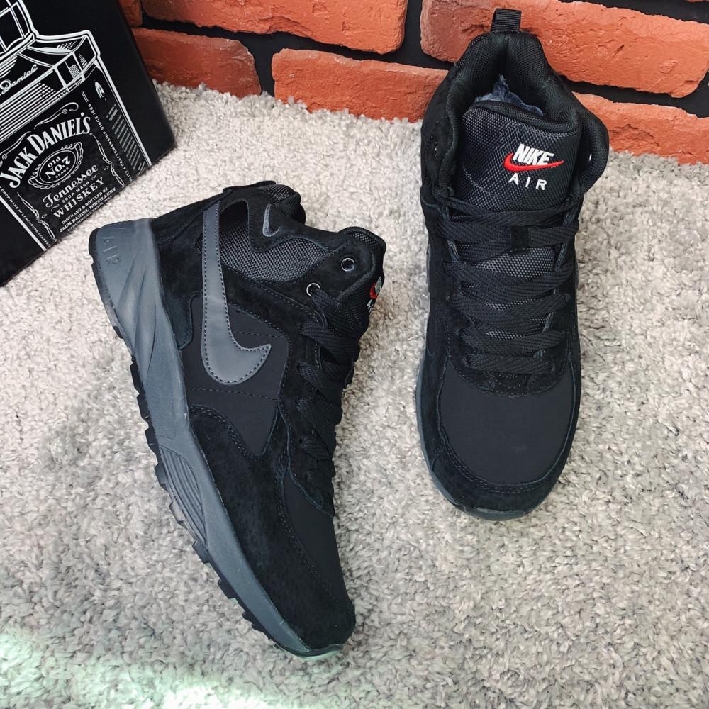Мужские ботинки зимние - Зимние ботинки (на меху) мужские Nike Air 1-043 ⏩ [ 41,42.43,43,45,46 ] 1
