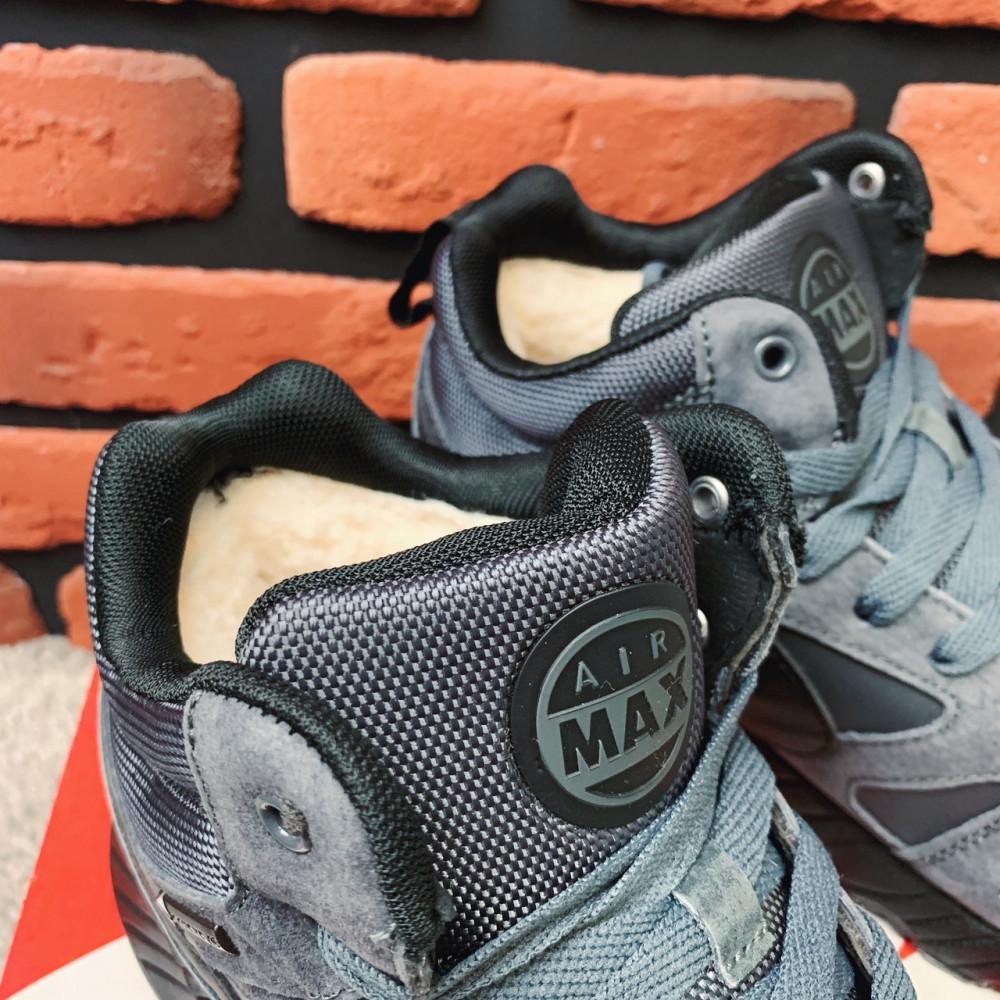 Мужские ботинки зимние - Зимние ботинки (на меху) мужские Nike Air Max  1-087 ⏩ [42,43,44,45 ] 6