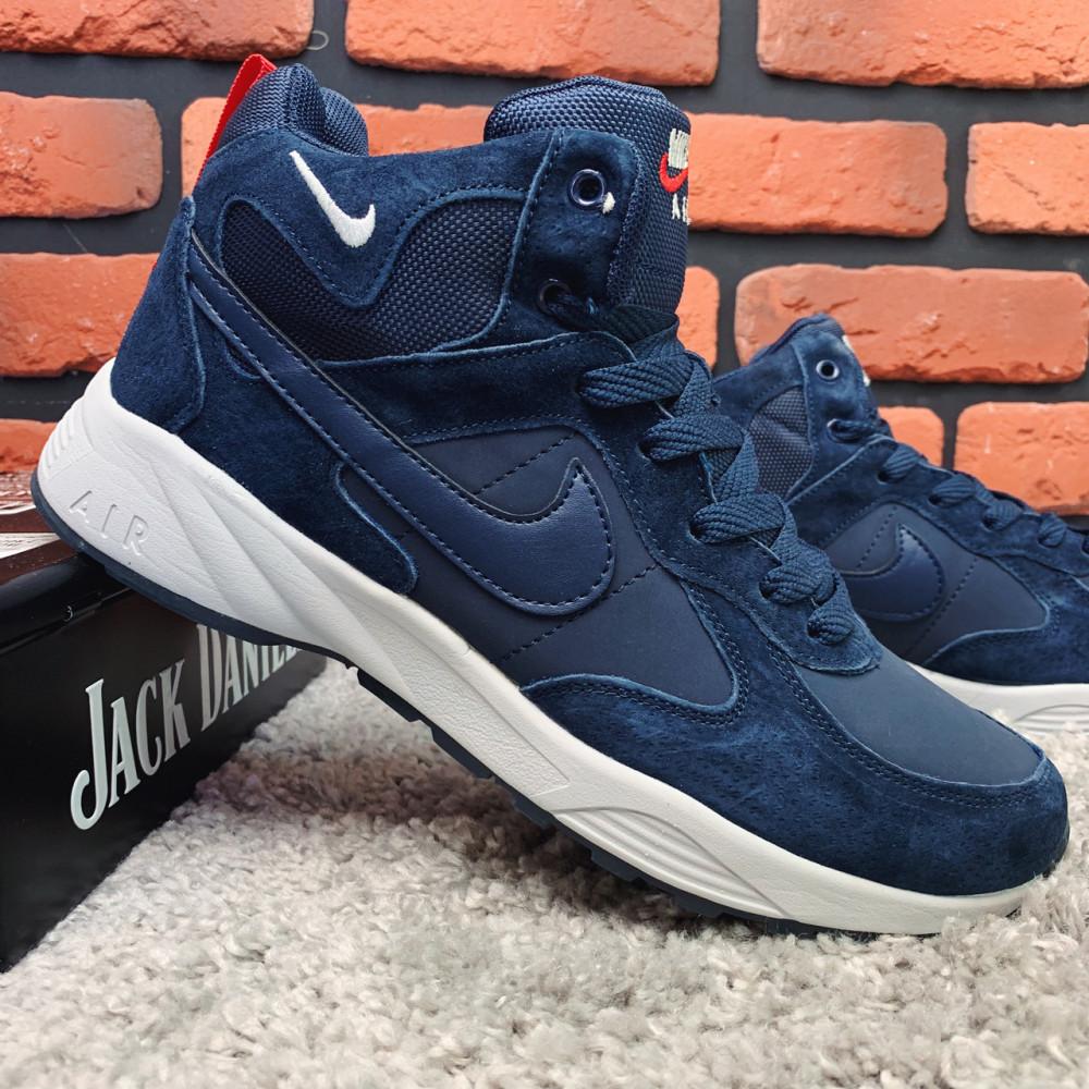 Мужские ботинки зимние - Зимние ботинки (НА МЕХУ) мужские Nike Air  1-098 ⏩ [ 42,43 ] 3