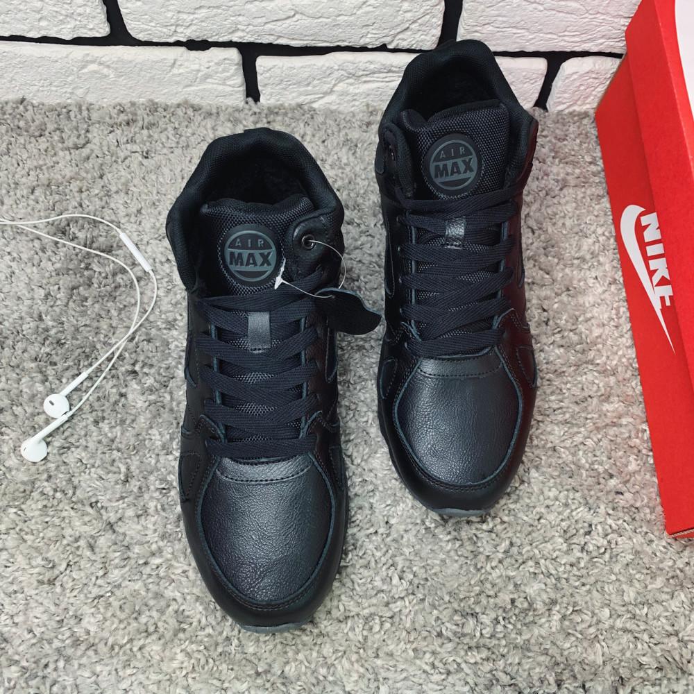 Мужские ботинки зимние - Зимние ботинки (НА МЕХУ) мужские Nike 1-110⏩ [ 43,44,45,46 ] 3