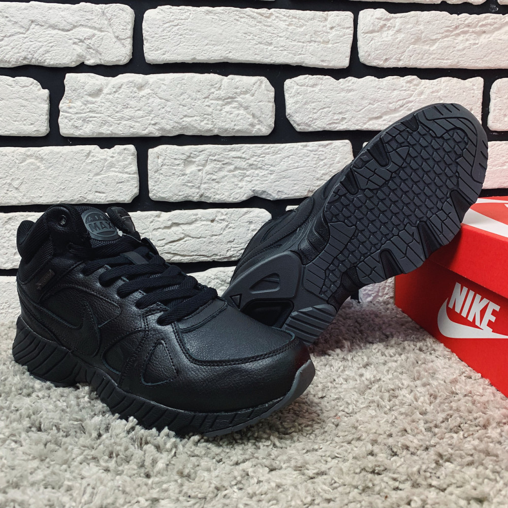 Мужские ботинки зимние - Зимние ботинки (НА МЕХУ) мужские Nike 1-110⏩ [ 43,44,45,46 ] 5