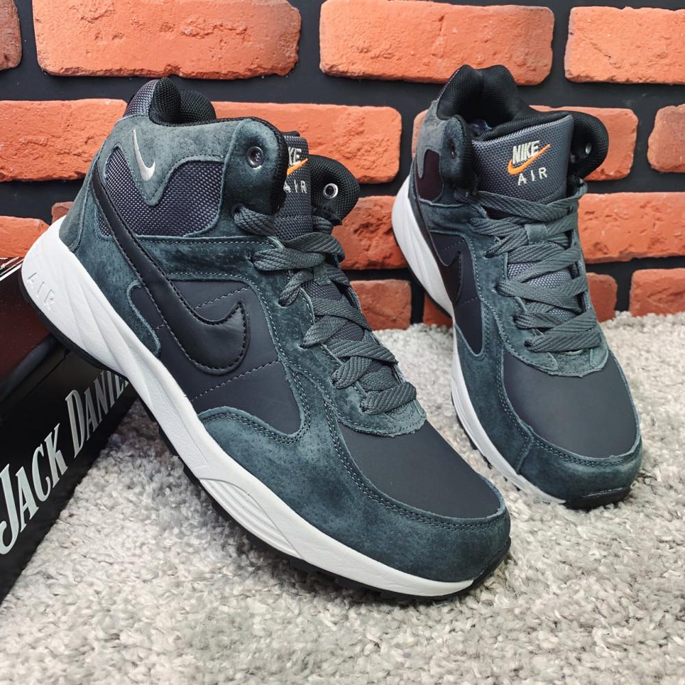 Мужские ботинки зимние - Зимние ботинки (НА МЕХУ) мужские Nike  Air Max  1-119 ⏩ [ 42,43,45,46 ] 1