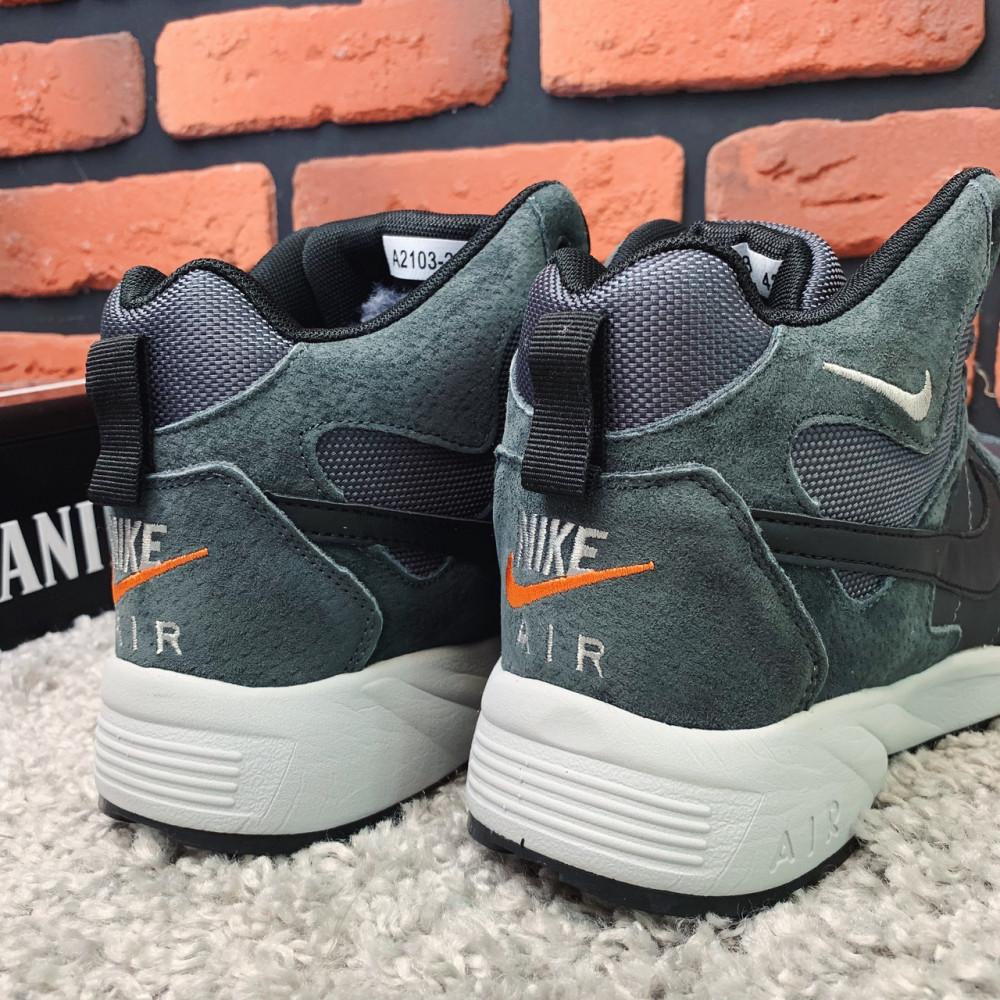 Мужские ботинки зимние - Зимние ботинки (НА МЕХУ) мужские Nike  Air Max  1-119 ⏩ [ 42,43,45,46 ] 2