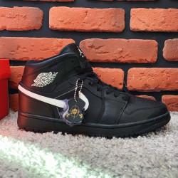 Зимние кроссовки (на меху) мужские Nike Air Jordan 1-127 ⏩ [ 41,42,43,44,46 ]