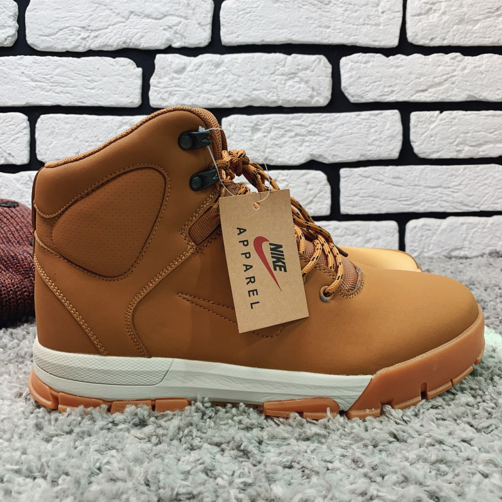 Мужские ботинки зимние - Зимние ботинки (на меху)  мужские Nike Air Lunarridge  1-137 ⏩ [ 42 последний размер ]