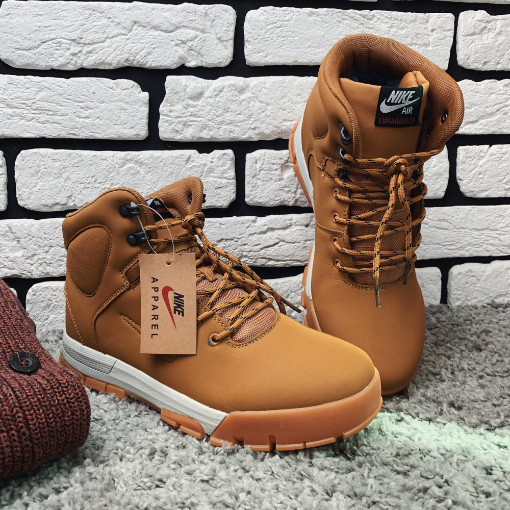 Мужские ботинки зимние - Зимние ботинки (на меху)  мужские Nike Air Lunarridge  1-137 ⏩ [ 42 последний размер ] 2